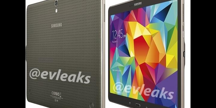 Aparecen nuevas imágenes del Samsung Galaxy Tab S 10.5