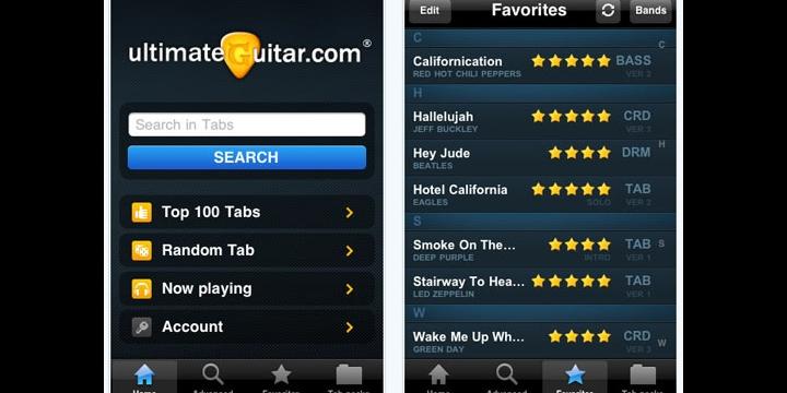 Saca el máximo partido a tu instrumento con Ultimate Guitar Tabs para Android