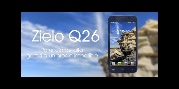 Woxter presenta Zielo Q26, su smartphone de 5 pulgadas para los usuarios más exigentes
