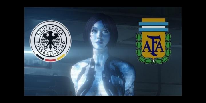 ¿Quién ganará el Mundial? Cortana lo predice