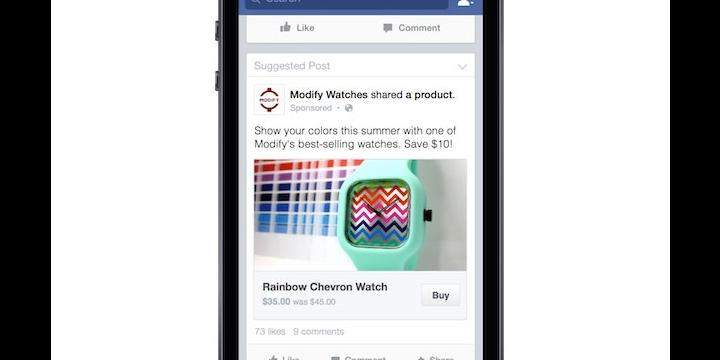 Facebook permitirá comprar sin salir de la red social