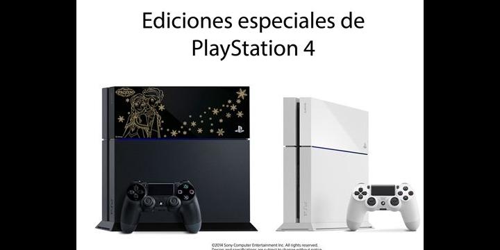Sony lanzará dos nuevas ediciones de PlayStation 4