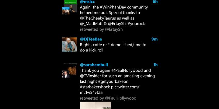 5 clientes de Twitter para Windows Phone