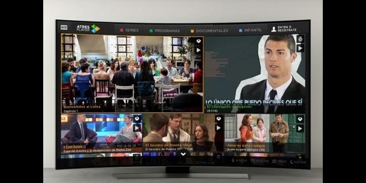 ATRESPLAYER ya disponible en las Samsung Smart TV