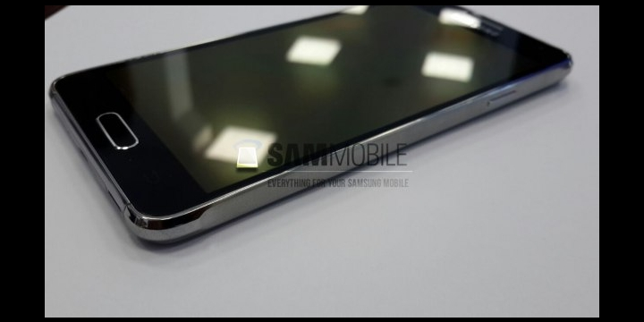Samsung Galaxy Alpha podría tener solo el marco de metal