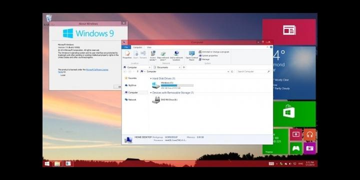 Windows 9 llegará pensando en los dispositivos no táctiles