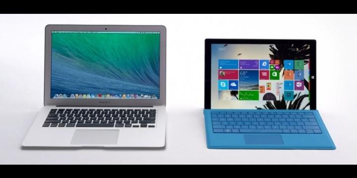 Microsoft se burla del Macbook Air con Surface 3