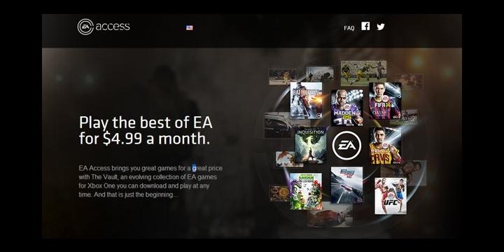 FIFA 14, Battlefield 4, Madden NFL 25 y más juegos por 5 dólares al mes