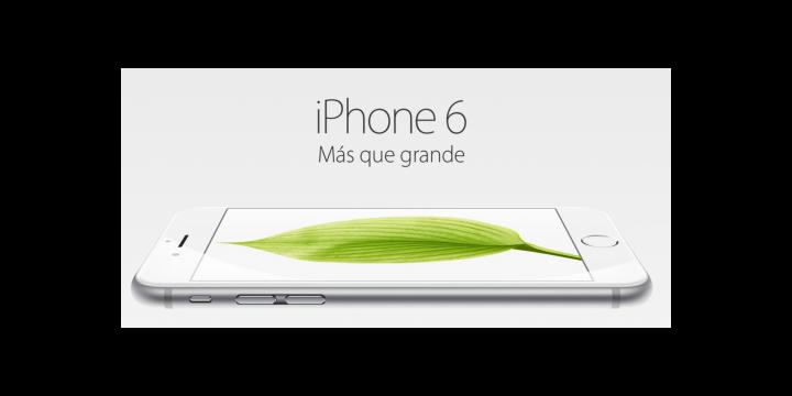 iPhone 6 e iPhone 6 Plus, dos tamaños para el nuevo smartphone de Apple