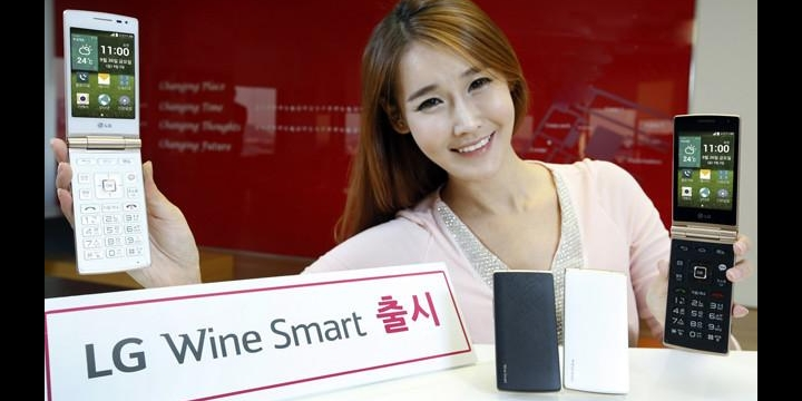 LG Wine Smart, vuelven los teléfonos con tapa y teclado