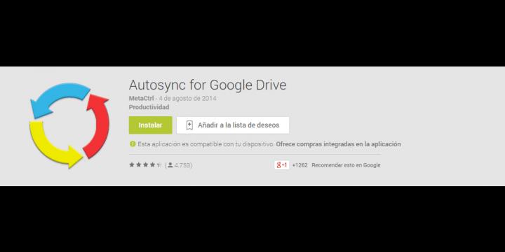 Cómo subir las fotos desde Android a Google Drive