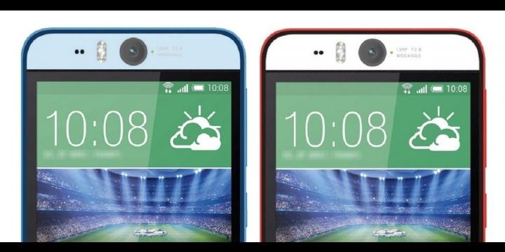 HTC Desire Eye, cámara delantera para selfies de 13 megapíxeles y con flash