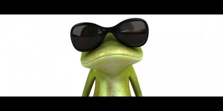 ¿Qué significa la rana con gafas del WhatsApp?