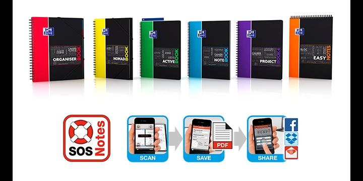 SOS Notes Oxford, el cuaderno de apuntes que subes a tu móvil