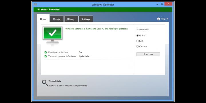Cómo activar la protección de adware o PUA de Windows Defender