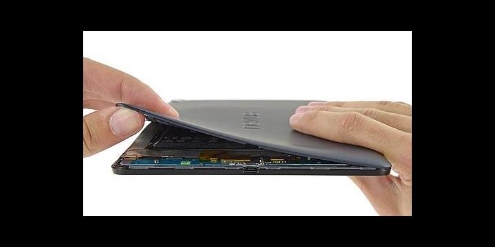 La Nexus 9 es más difícil de arreglar que sus predecesoras