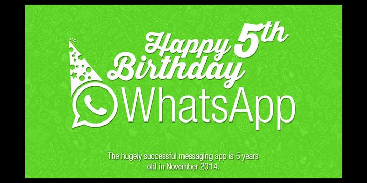 WhatsApp cumple 5 años y continúa siendo el número uno