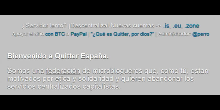¿Qué es Quitter? Conoce la red social alternativa de moda