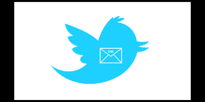 Twitter añade un botón para compartir tweets por DM
