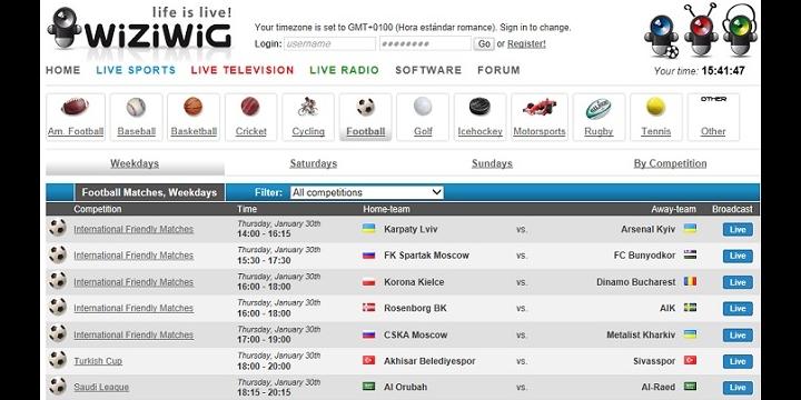 Wiziwig, la web del fútbol gratis, cierra por presión