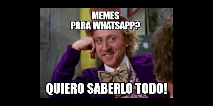 Cómo crear memes para WhatsApp