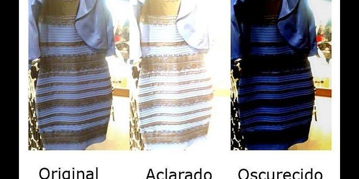 #TheDress, el vestido que cambia de color