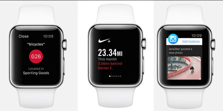 Las 37 primeras apps para el Apple Watch