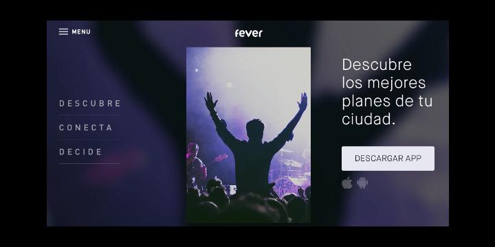 Fever, la app para encontrar planes en tu ciudad