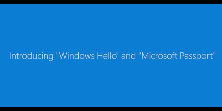 Windows Hello, olvida las contraseñas en Windows 10