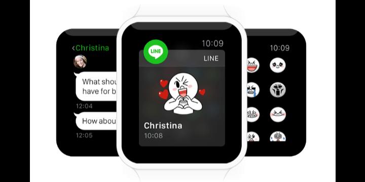 LINE se adelanta a WhatsApp con soporte para el Apple Watch