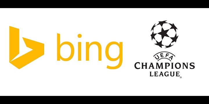 Bing predecirá los partidos de la Champions