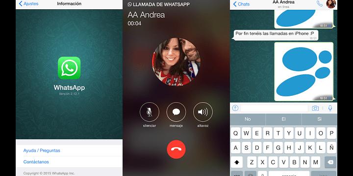 Las llamadas de WhatsApp ya disponibles en iPhone: ¡te activamos las llamadas VoIP!
