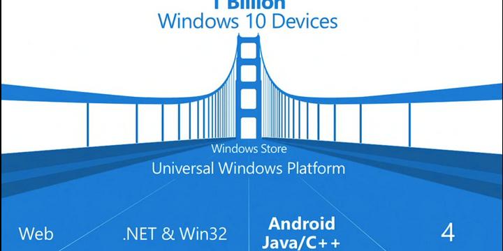Windows 10 podrá ejecutar aplicaciones Android e iOS