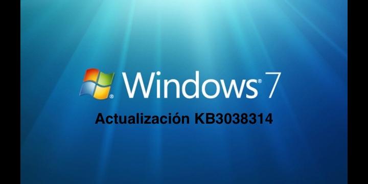 La actualización KB3038314 de Windows 7 da un error 80092004
