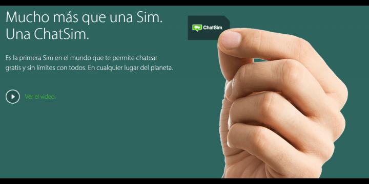ChatSim: la tarjeta SIM para usar WhatsApp, WeChat, Viber y más apps con llamadas