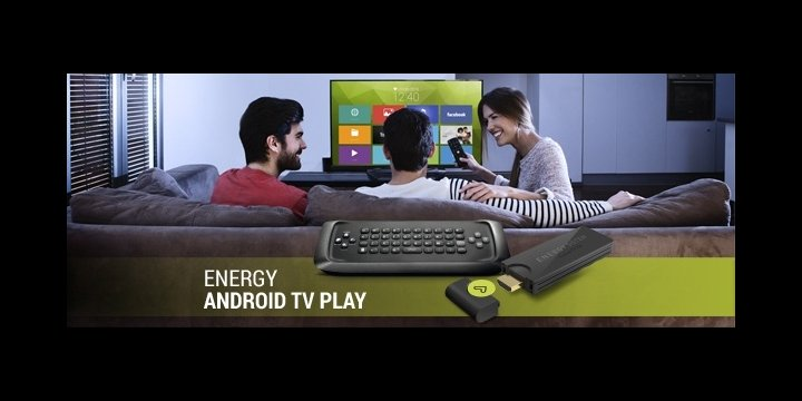 Energy Android TV Play, conecta tu televisor al universo Android