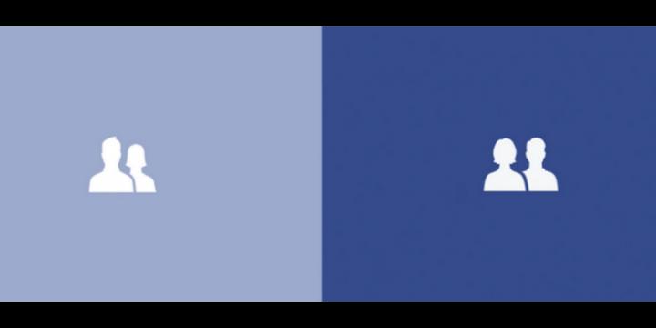 Facebook cambia los logos ysitúa a las mujeres delante de los hombres