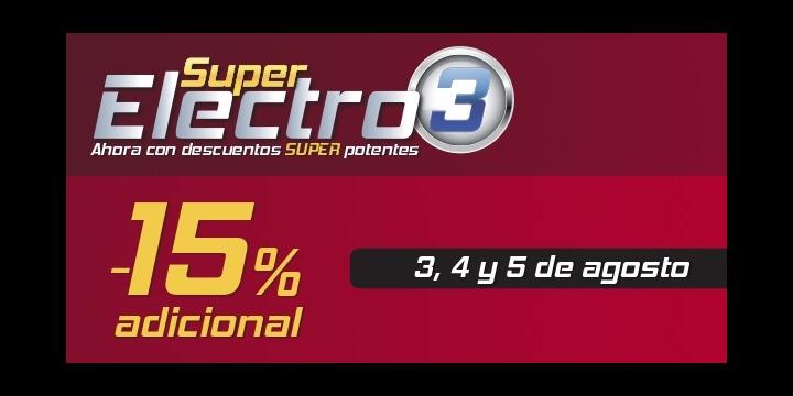 Super Electro 3 en El Corte Inglés, las rebajas de verano en electrónica