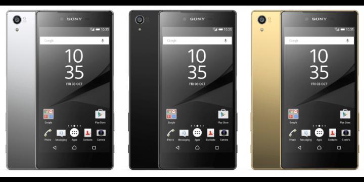 Sony Xperia Z5 ya disponible en España