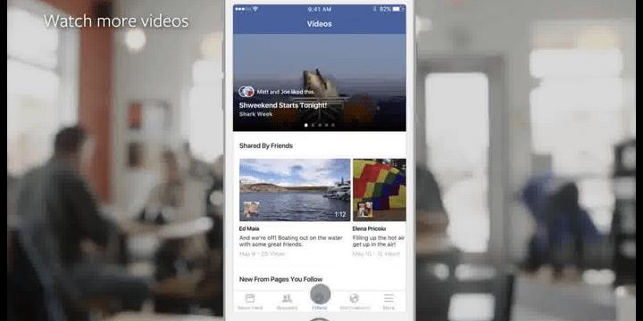 Facebook apuesta por el vídeo