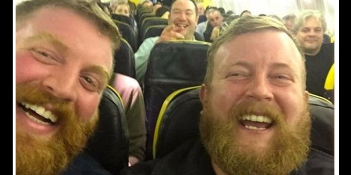 El selfie de los barbudos idénticos se hace viral