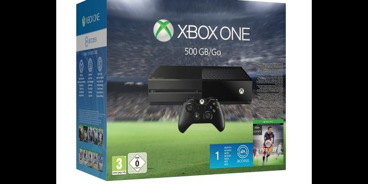 3x2 en packs Xbox One de 500GB + FIFA 16 en GAME