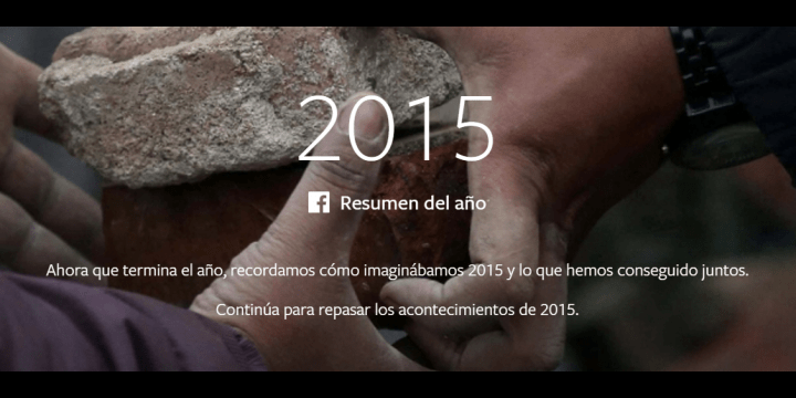 El resumen del año 2015 según Facebook