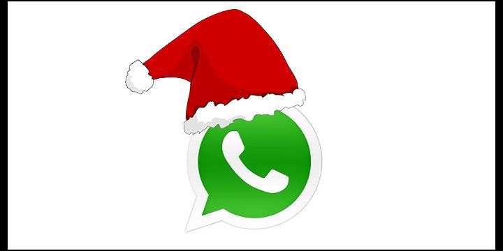 30 divertidas felicitaciones de Navidad para WhatsApp