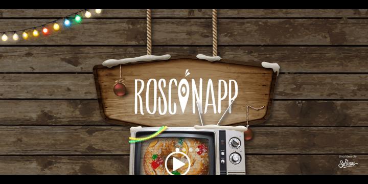 RosconApp, el Roscón de Reyes con figurita geolocalizada