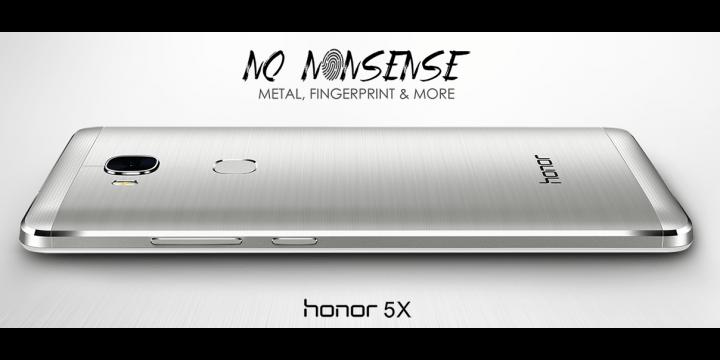 Huawei Honor 5X, conoce los detalles del nuevo smartphone