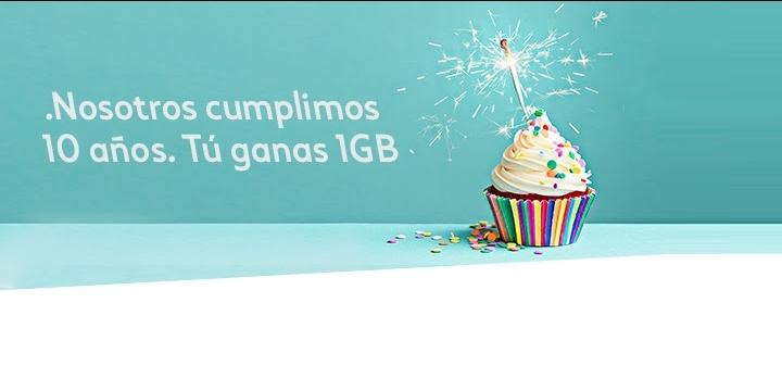 Tuenti cumple 10 años y regala 1GB de datos