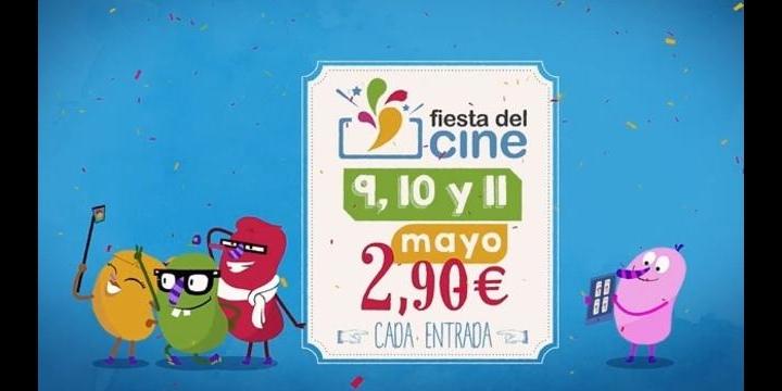 El próximo mes habrá Fiesta del Cine a 2,90 euros