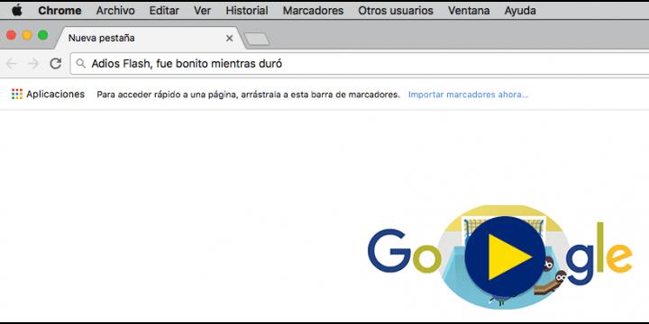 Chrome bloqueará Flash