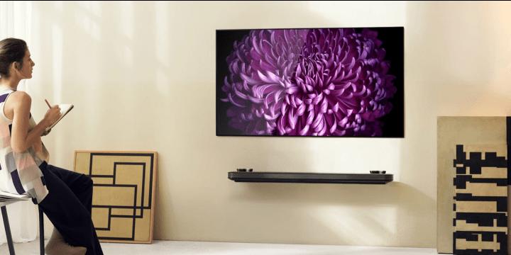 LG prepara televisores de 80 pulgadas, enrollables, 8K y OLED